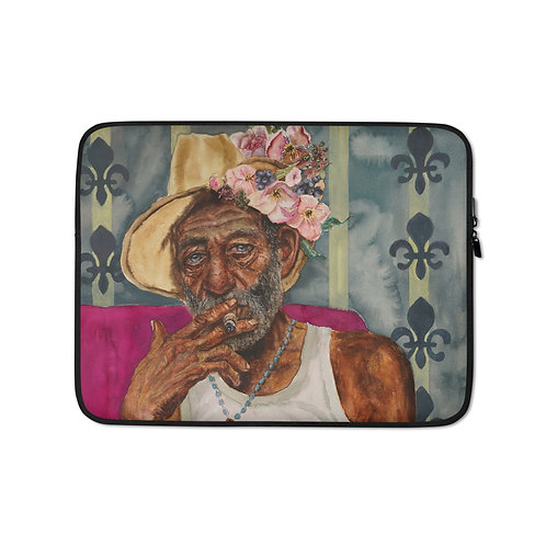 "Kathy Shorkey ""Cuban Dudu"" (Laptop Case)"