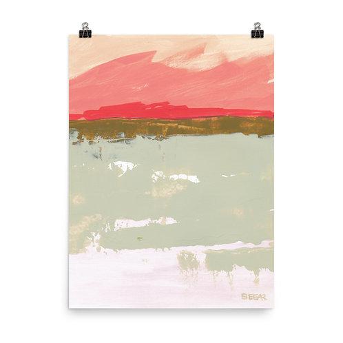 Pink Sky by Angela Seear
