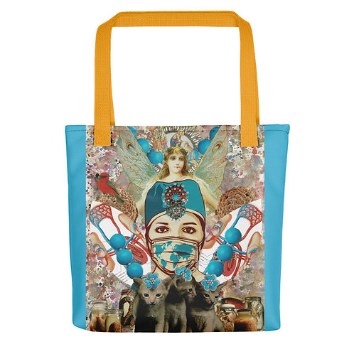 "Claudia Lambdin/Ahjnae Collage ""Healthcare Angel"" (Tote bag)"