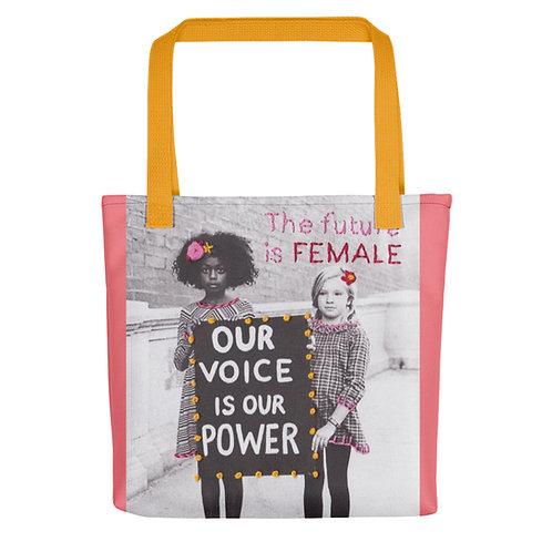 "Elise Benetreau ""Girls Voice"" (Tote bag)"