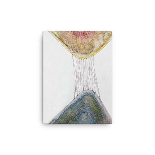 "Emmanuelle Gaudillat ""Connexion"" (Canvas Giclee)"