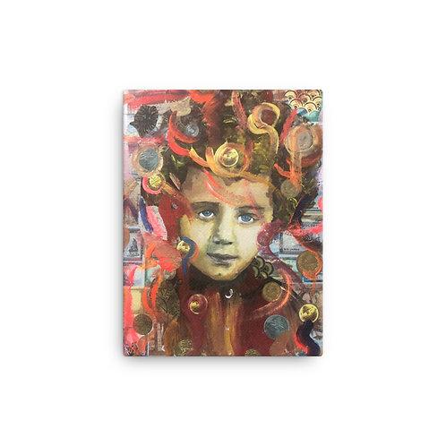 "Ghia Haddad ""Born in Beirut"" (Canvas Giclee)"