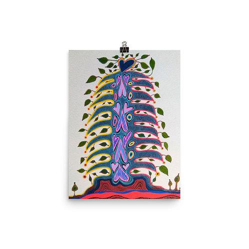 Totem Spirit Tree by Sandra Perez-Ramos