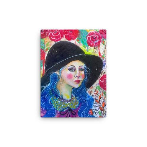 "Lola Burgos ""Waiting for February"" (Canvas Giclee)"