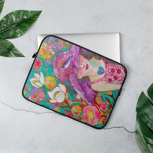 "Lola Burgos ""Untold Memories"" (Laptop Sleeve)"