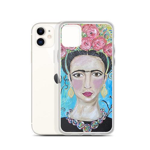 Frida (iPhone Case) by Jennifer Psalmonds
