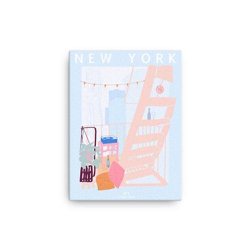 "Caroline Pryce Martin  ""New York"" (Cancas Giclee)"