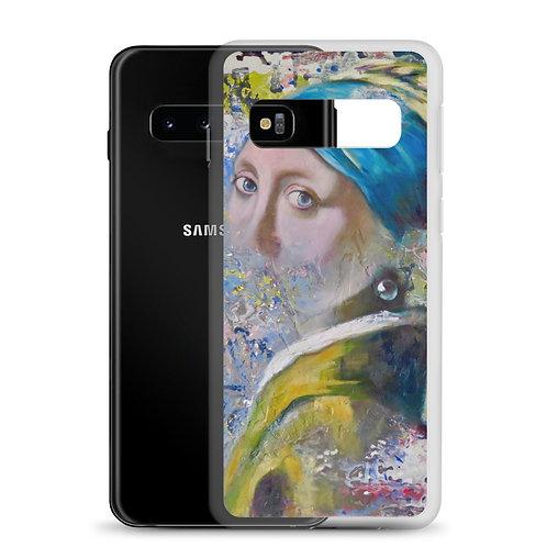 Homage to Vermeer (Samsung Case) by Carol Greenwood