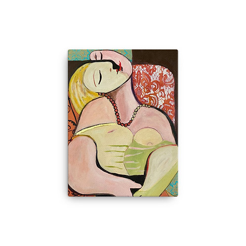 Chasing Picasso (Canvas Giclee) by Angie Meche Kilcullen