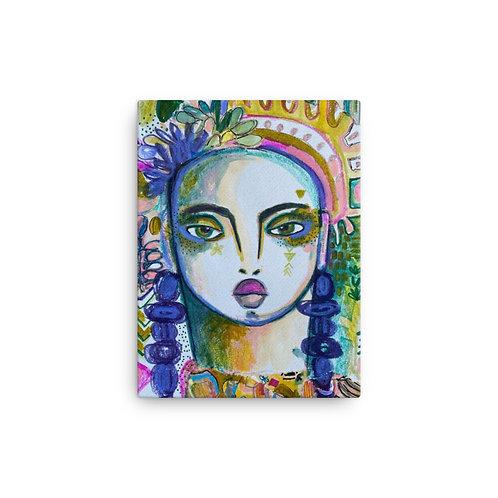 Untitled (Canvas Giclee) by Rosalina Bojadschijew