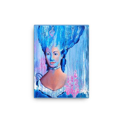 "Angela Lubinecky ""I Rule"" (Canvas Giclee)"