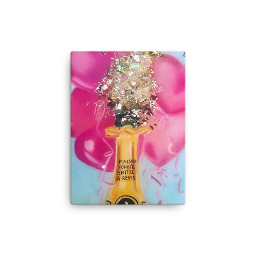 """Coco Martin """"Poppin Champs"""" (Canvas Giclee)"""