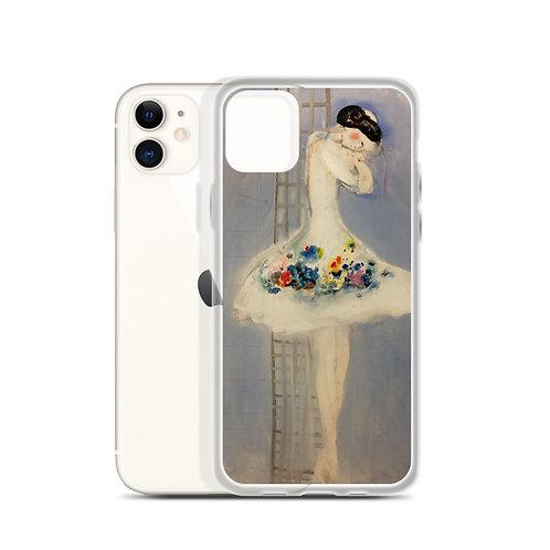 "Carmen Marin ""Ballerina Sleeping Vertically"" (iPhone Case)"