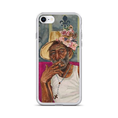 Cuban Dude (iPhone Case) by Kathy Shorkey