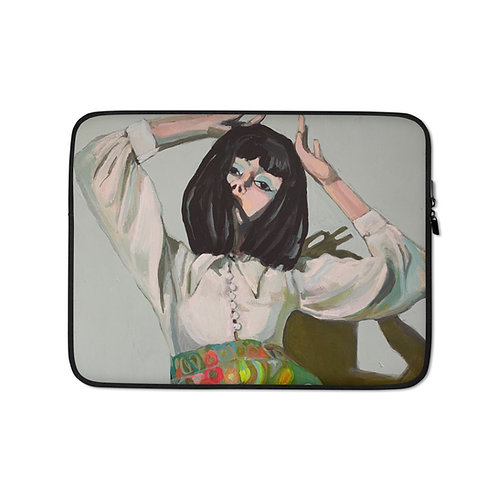 Psychedelic Groove (Laptop Case) by Sabrina Cabada