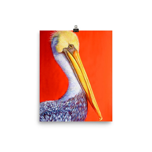 Beach Pelican by Carol Greenwood