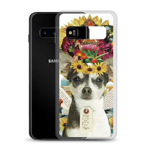 """Claudia Lambdin/AhjnaeCollage """"Keep Calm and put on Your Hippie"""" (Samsung Case)"""
