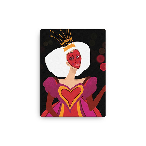 """Alicia Jungwirth """"Queen of Heart"""" (Canvas Giclee)"""