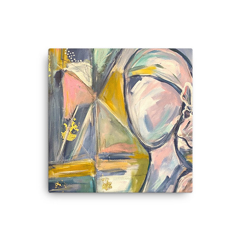 Know Your Worth (Canvas Giclee) by Jennifer Psalmonds