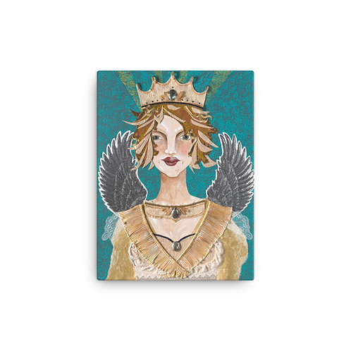 "Susan Epperly ""Priestess Paloma"" (Canvas Giclee)"