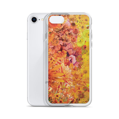 Rainbow in Bloom 2 (iPhone Case) by Rachel Newell