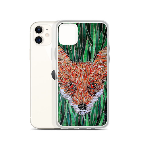 Foxy (iPhone Case) by Katie McMurry