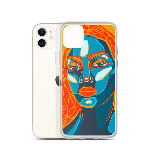Fire and Ice (iPhone Case) by Kasey Burkhart