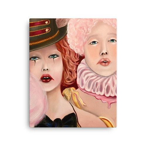 "Kally Etchebarne ""Freak Show"" (Canvas Giclee)"