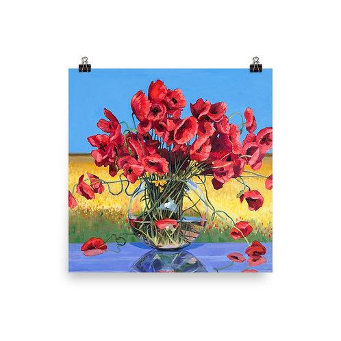 Poppies by Nancy Myers Altemus