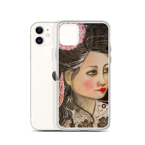 Autumn Caresses (iPhone Case) by Lola Burgos