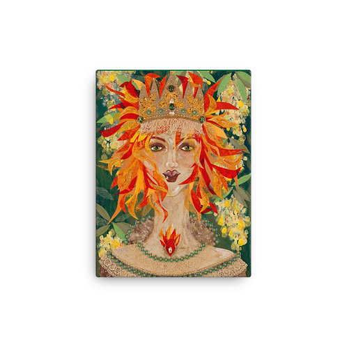 "Susan Epperly ""Goddess Eire"" (Canvas Giclee)"