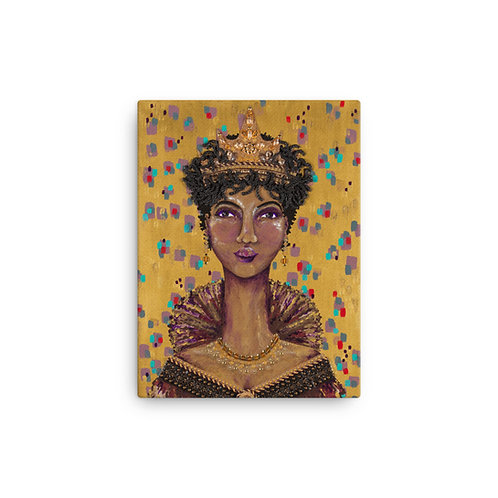 """Susan Epperly """"The Queen of Knowing"""" (Canvas Giclee)"""