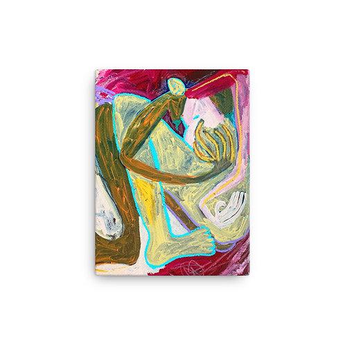 """Reneesha Mccoy """"Gloom Slow"""" (Canvas Giclee)"""