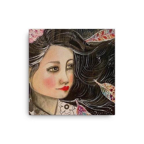 Autumn Caresses (Canvas Giclee) by Lola Burgos
