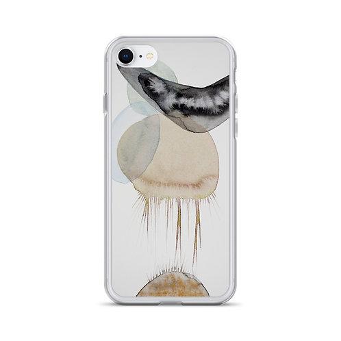 Meduse (iPhone Case) by Emmanuelle Gaudillat