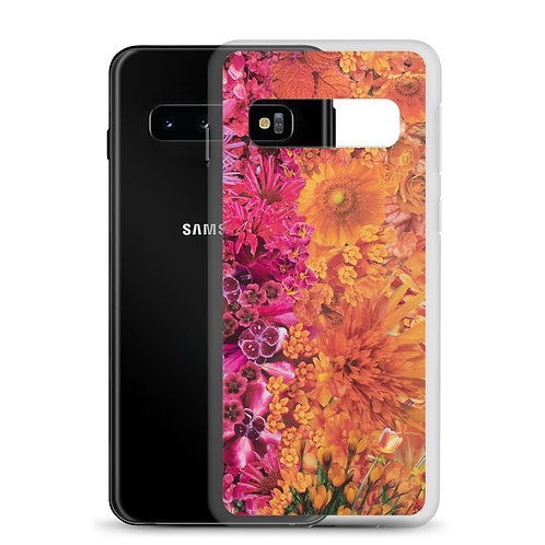 Rainbow in Bloom 3 (Samsung Case) by Rachel Newell