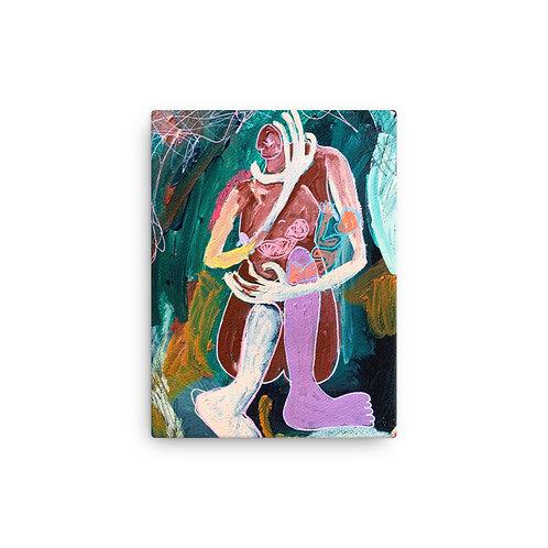 """Reneesha Mccoy """"Emotional Discrepancy"""" (Canvas Giclee)"""