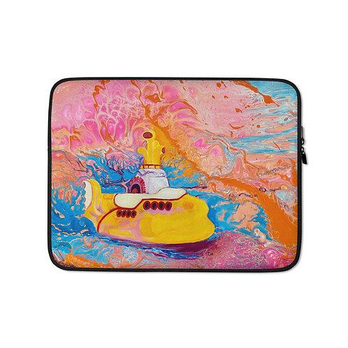"Angela Lubinecky ""Yellow Submarine Dream"" (Laptop Sleeve)"