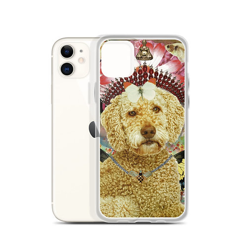 Goldendoodle (iPhone Case) by Claudia Lambdin/AhjnaeCollage