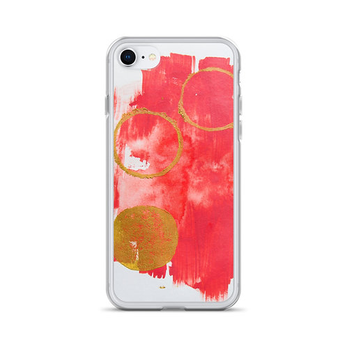 "Heidi Nielson ""Moon Circle"" (iPhone Case)"