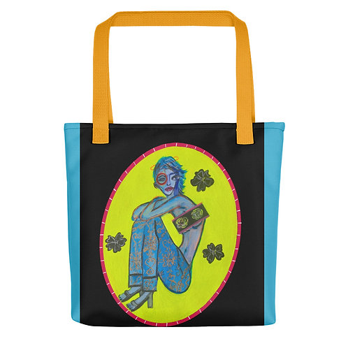 """Brittany Minnes """"Extraterrestrial Queen"""" (Tote bag)"""