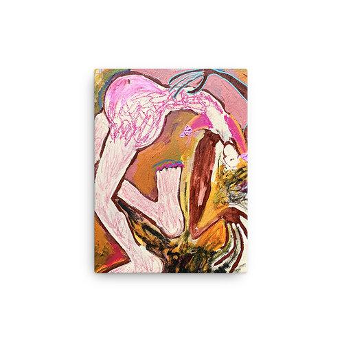"""Reneesha Mccoy """"Circus"""" (Canvas Giclee)"""