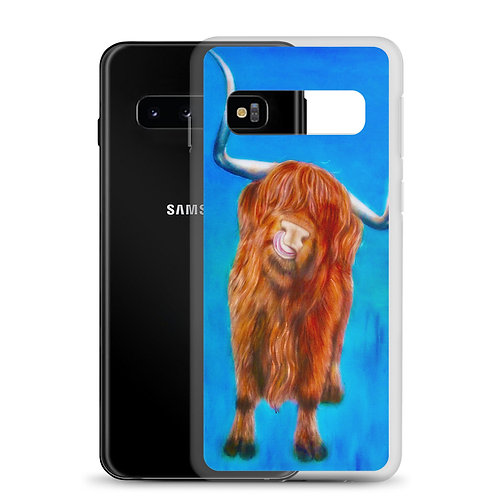 Cow Tongue (Samsung Case) by Carol Greenwood