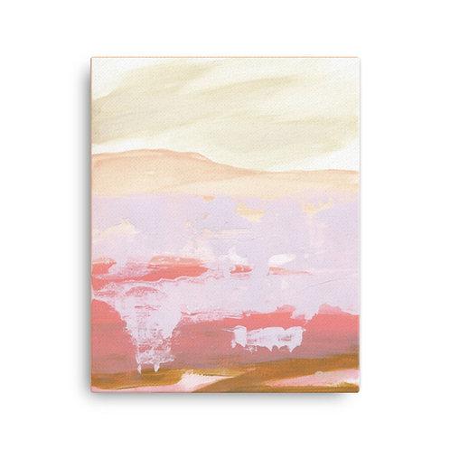 """Angela Seear """"Blushing Dawn"""" (16x20 inch Canvas Giclee)"""