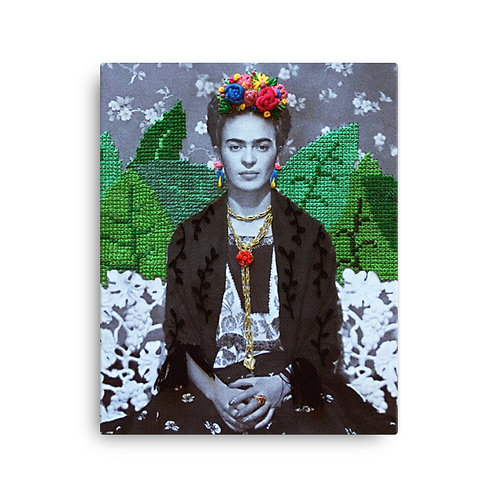 "Elise Benetreau ""Frida"" (Canvas Giclee)"