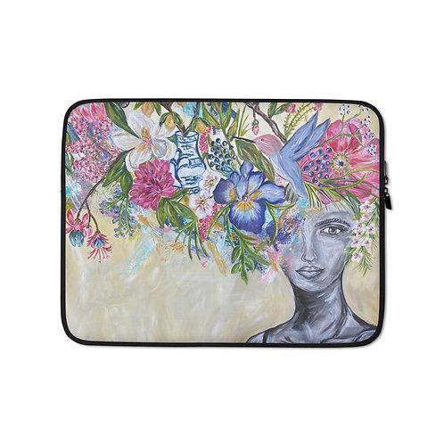 Wings (Laptop Case) by Jennifer Psalmonds