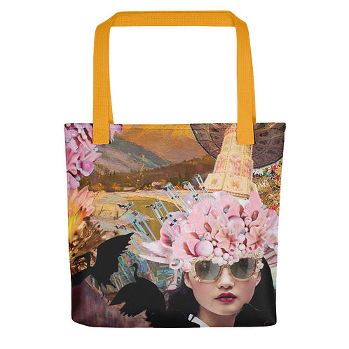 "Rachel Newell ""Whimsy Whirlwind"" (Tote bag)"