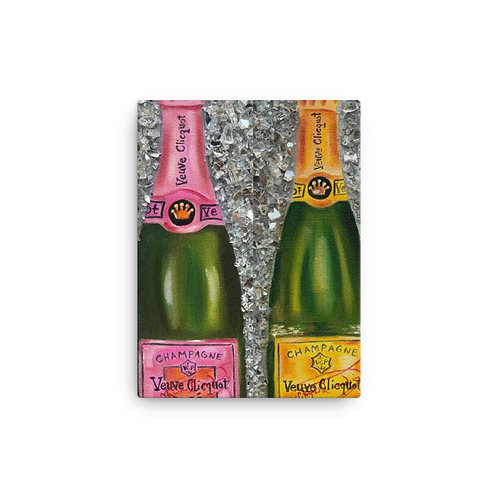 Veuve on Ice (Canvas Giclee) by Coco Martin