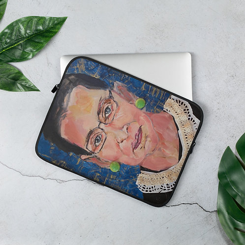 RBG #1 (Laptop Case) by Angie Meche Kilcullen
