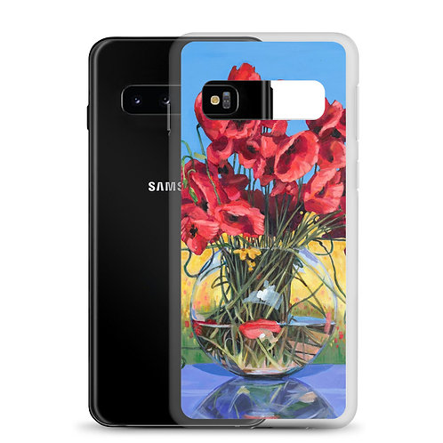 Perfect Poppies (Samsung Case) by Nancy Altemus